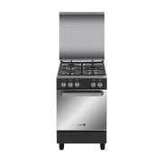 Fujidenzo Cooking Range 50x55cm 3 Gas Burner, Gas Oven, Thermostat - FGR-5530VTRMB