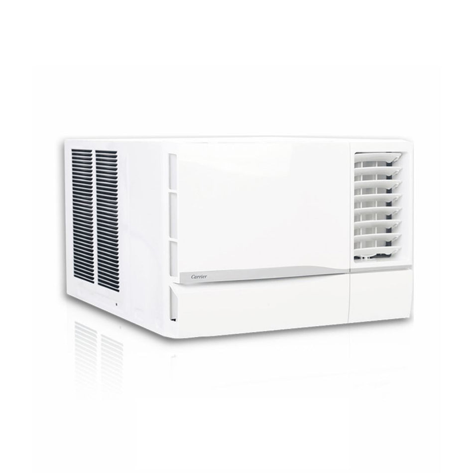 Carrier Window Type Aircon 1.5HP Icool Green With 12Hr. Timer - WCARH014EC