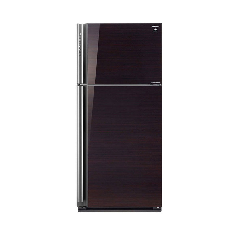 Sharp Refrigerator 21.0Cuft. Double Door No-Frost J-Tech Inverter - SJ-FTG21AVP/BK