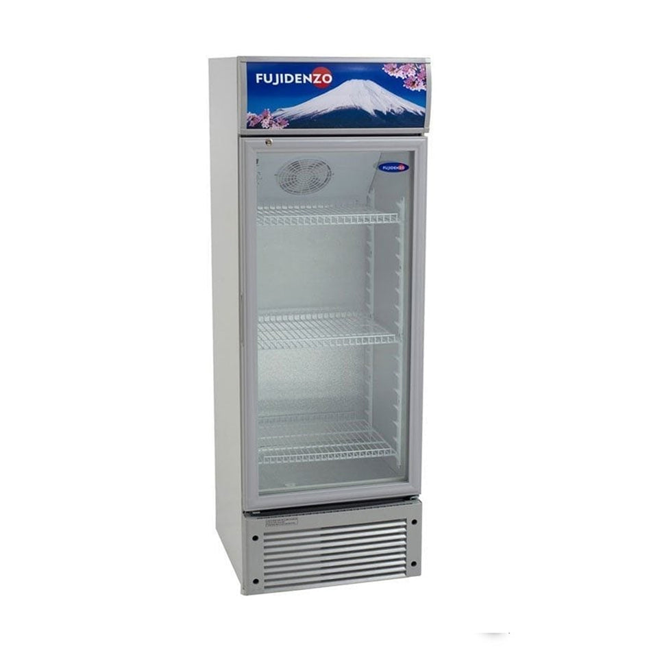 Fujidenzo Upright Chiller 7 Cuft., 7 Level Temperature Control, 3 Adjustable Wire Shelves - SU-70 A