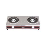 Tekno Gas Stove Double Burner 90mm Cast Iron - TKX-780
