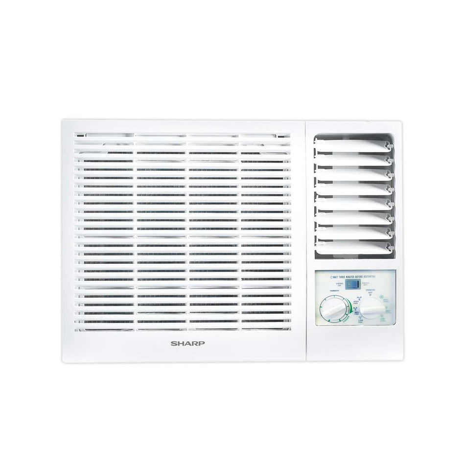 Sharp Window Type Aircon 1.0HP Manual Control -AF-T1017CM