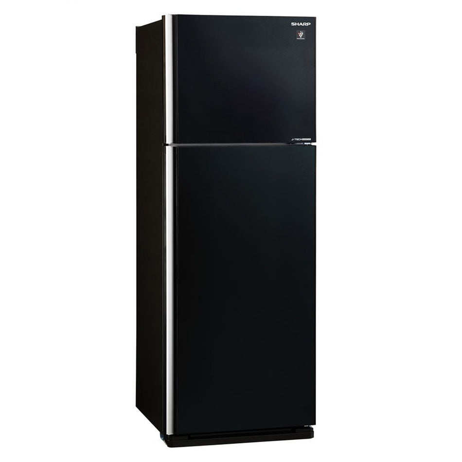 Sharp Refrigerator 15.1Cuft. Double Door No-Frost J-Tech Inverter - SJ-FTG15BVP/BK