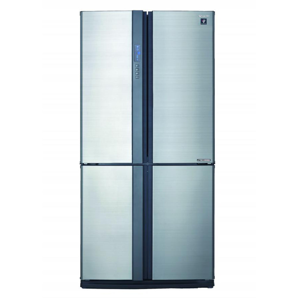 Sharp Refrigerator 23.98Cuft. French Door J-Tech Inverter Plasma Ion Tech - SJ-FTF24AVP-SL