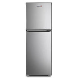 Fujidenzo Refrigerator 6.0Cuft. Double Door Direct Cooling, Stainless Look - RDD-60S