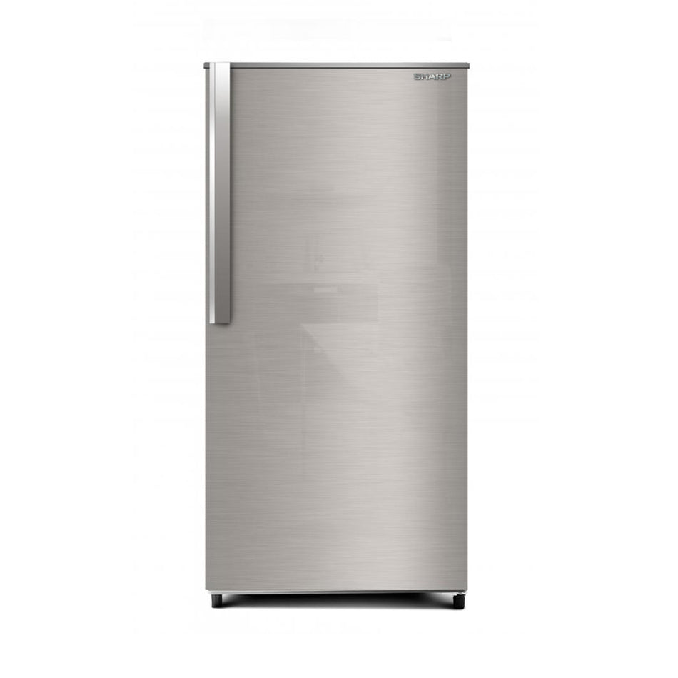 Sharp Refrigerator 5.9 Cuft. Single Door Direct Cooling - SJ-ND60BS-SS