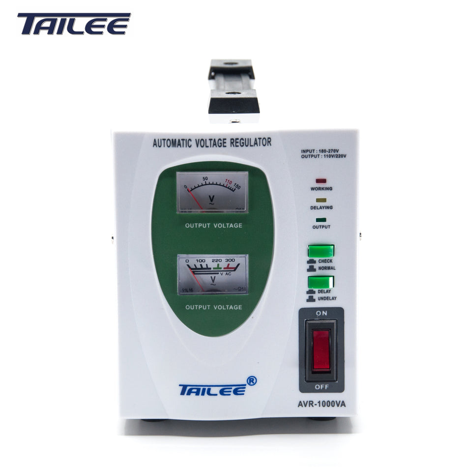 Tailee AVR 1000Watts W/ Time Delay (Relay Type) - AVR-1000W