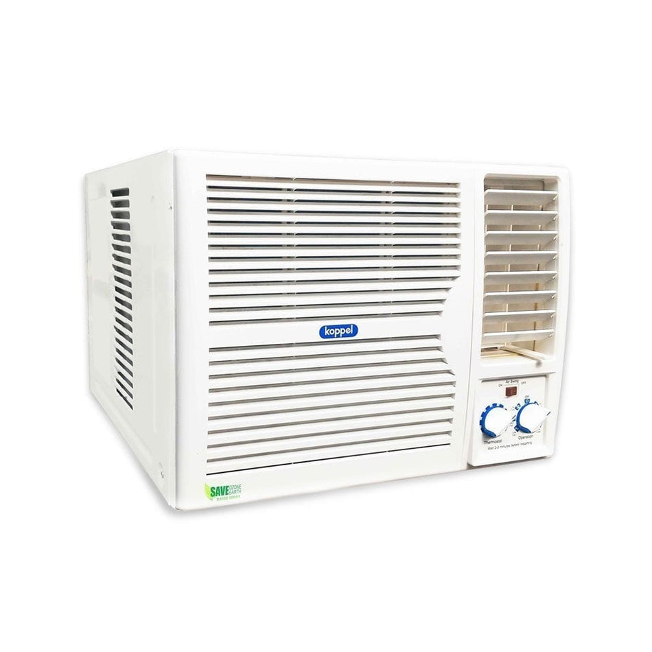 Koppel Window Type Aircon 1.5HP Manual Control R410A Refrigerant - KWR-12M5A