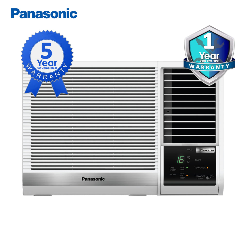 Panasonic Window Type Aircon 1.5HP Inverter - CW-XS128VPH