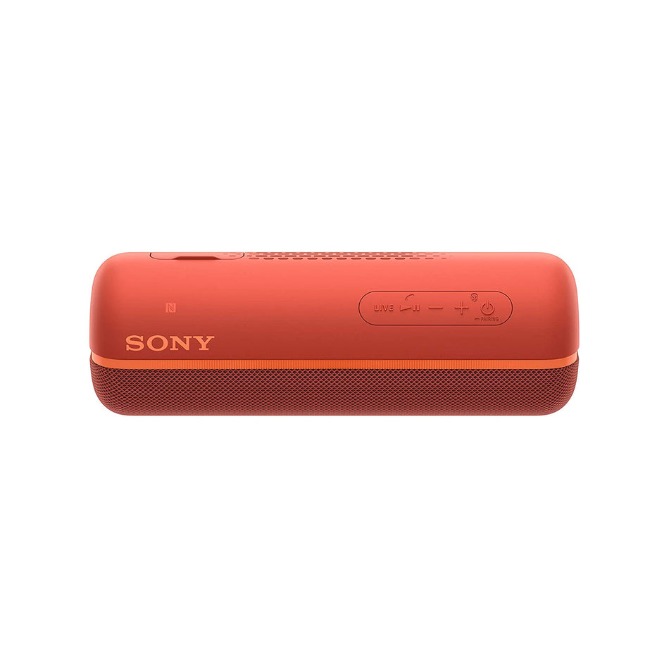 Sony EXTRA BASS Wireless Portable Bluetooth Speaker-SRS-XB22/RED