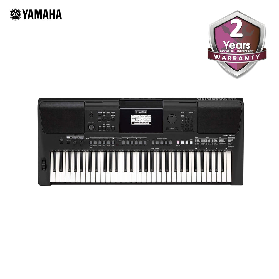 Yamaha Touch Response Portable Keyboard 61-Key Keyboard - PSR-E463
