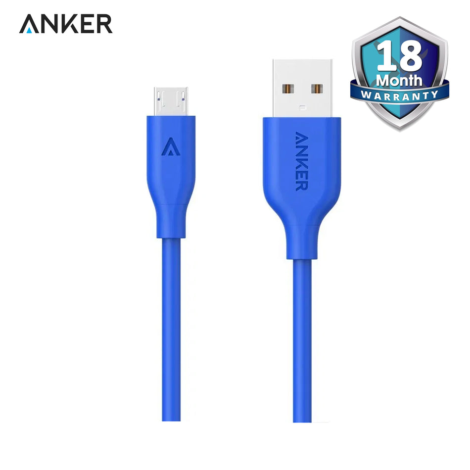 Anker PowerLine Micro USB 3ft/0.9m - A8132H31