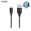 Anker PowerLine Micro USB 3ft/0.9m Black - A8132H12