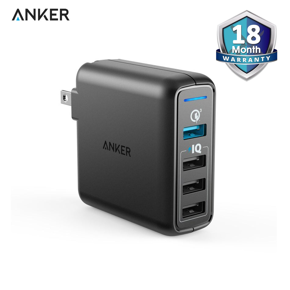 Anker PowerPort Speed 4 QC US Black A2040J11