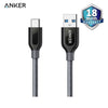 Anker Powerline+USB-C to USB-A 3.0 3ft. UNGray - A8168HA1