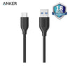 Anker powerline 3ft/0.9m USB-C to USB 3.0 - A8163H11