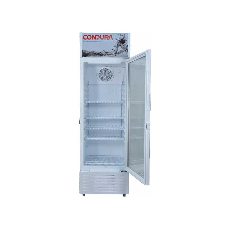 Condura Beverage Cooler 12Cuft. Automatic Defrost Single Door W/ 3 Shelves - CBC-342