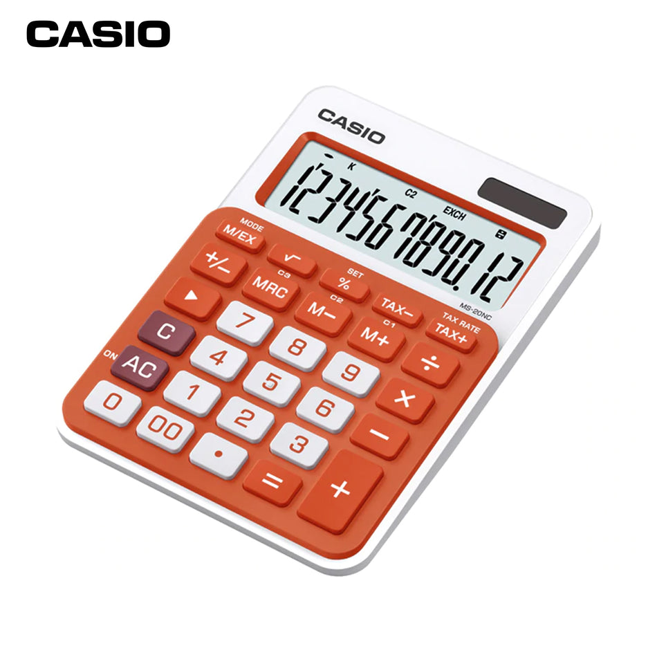 Casio Calculator MS-20NC-RG
