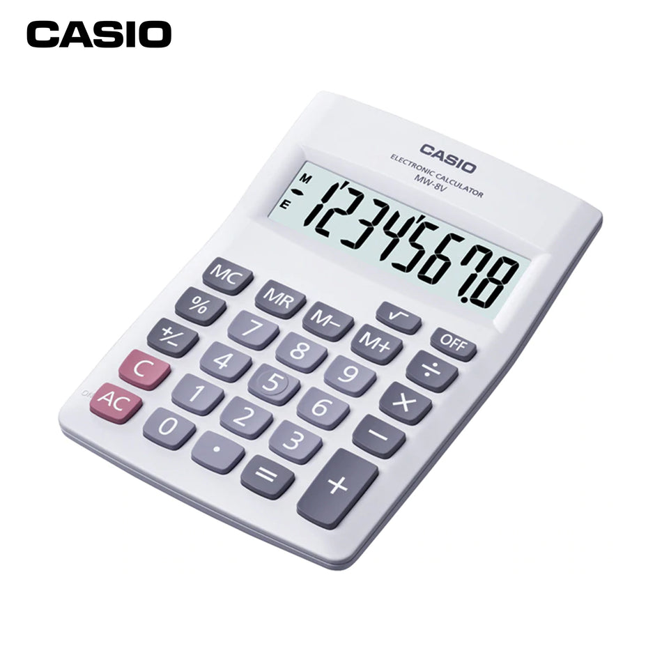 Casio Calculator MW-8V-WE