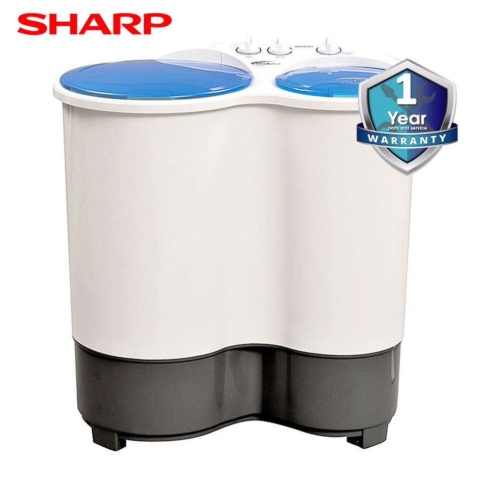 Sharp Washing Machine Twin Tub 9.5Kg. Rust Proof Body - ES-9535T
