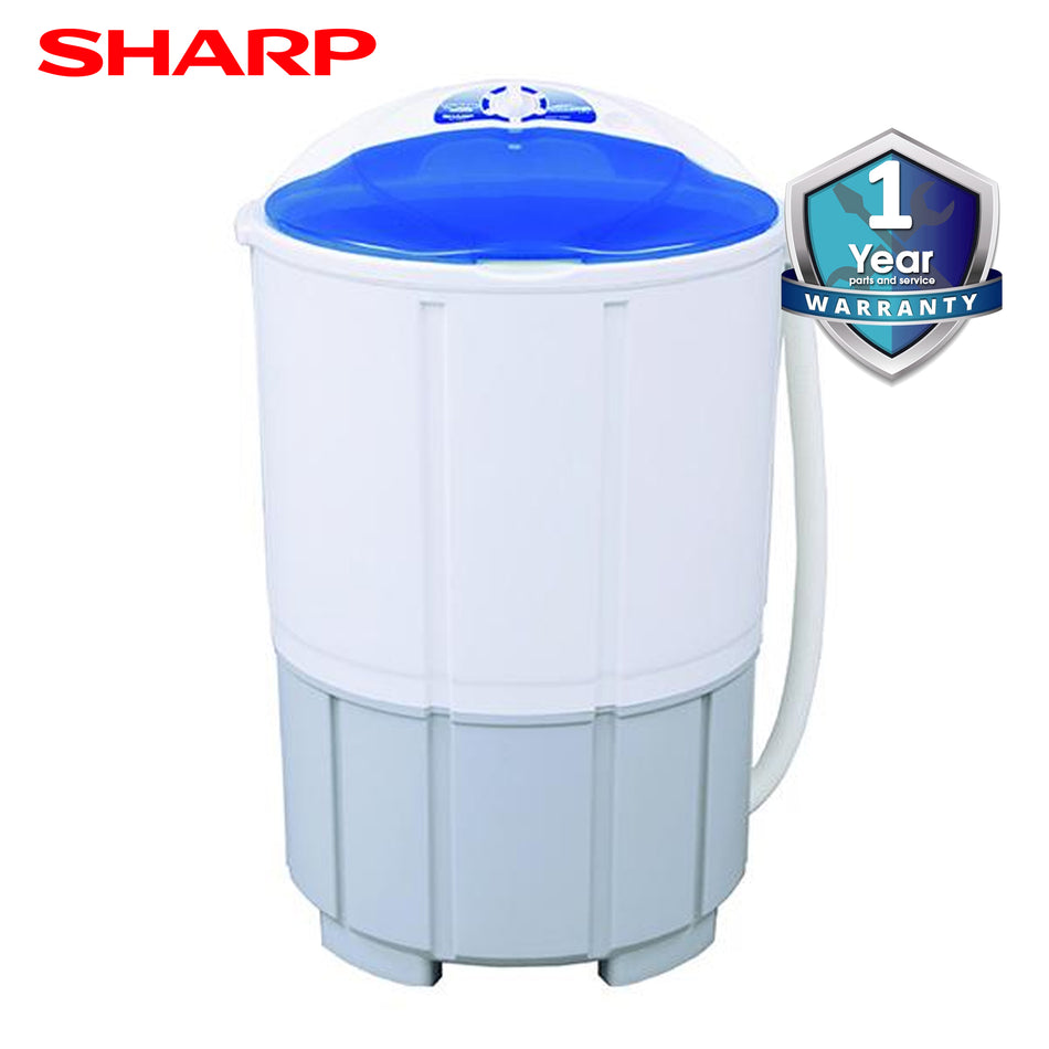 Sharp Washing Machine Single Tub 6.0Kg-ES-W610(BL)
