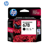 HP Ink Cartridge #678 CZ107AA Black