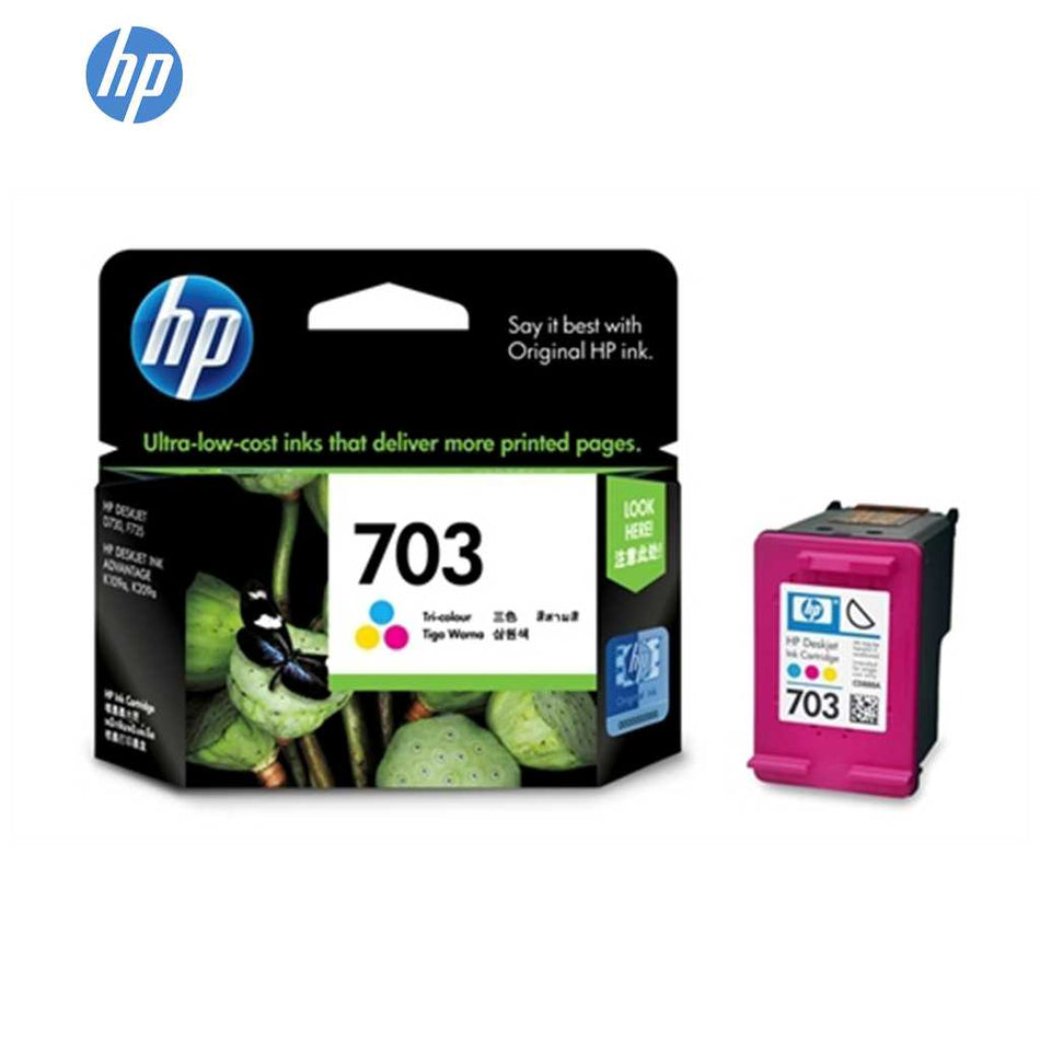 HP Ink Cartridge #703 CD888A Tri-Colour