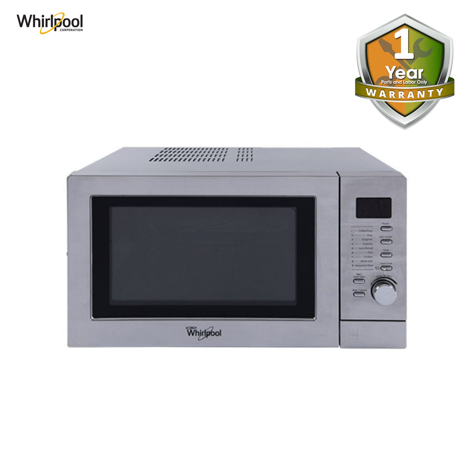 Whirhpool Microwave Oven Electronic Control 25 Liters Stainless - MWX-254 SS