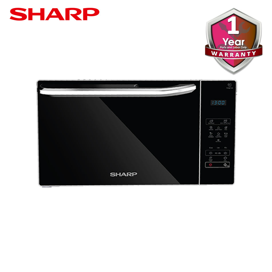 Sharp Microwave Oven 25Liters Solo Glass Door - R-32E(S)