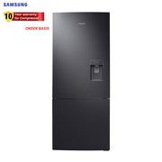 Samsung Refrigerator 15.0 Cu.Ft. Bottom Mount Freezer w/ Water Dispenser-RL40A3SBAB1/TC