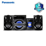 Panasonic Mini System, Bluetooth, USB, Super Woofer-SC-VKX95GA-K