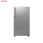 Sharp Refrigerator 5.2 Cuft Single Door Direct Cooling - SJ-DL55AS-SS