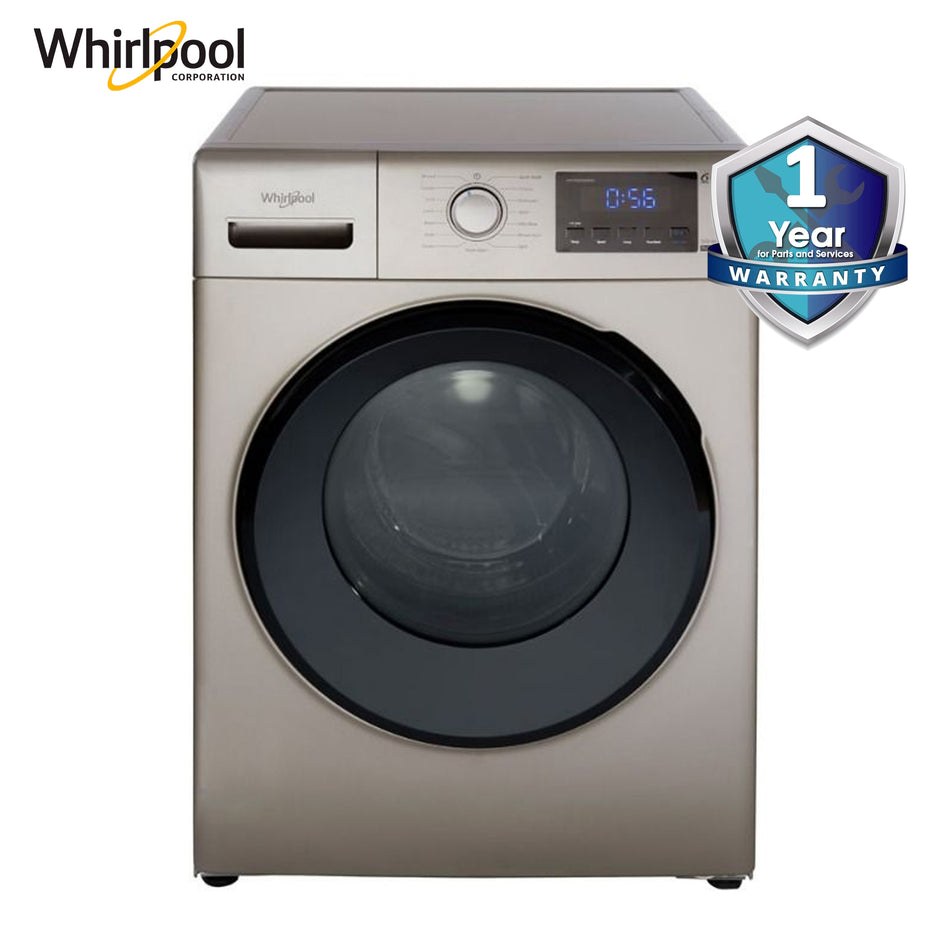 Whirlpool Washing Machine 8.5Kg. Radiant Front Load Inverter Plus 6th Sense Technology - WFRB852BHG