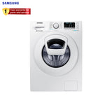 Samsung Washing Machine Fully Automatic 7.5KG. Front Load Inverter - WW-75K52E0YW/TC