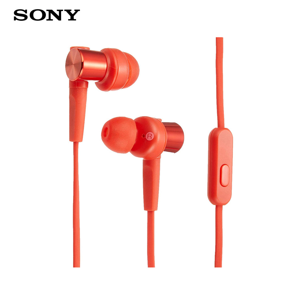 Sony Headphones with Mic MDR-XB55AP