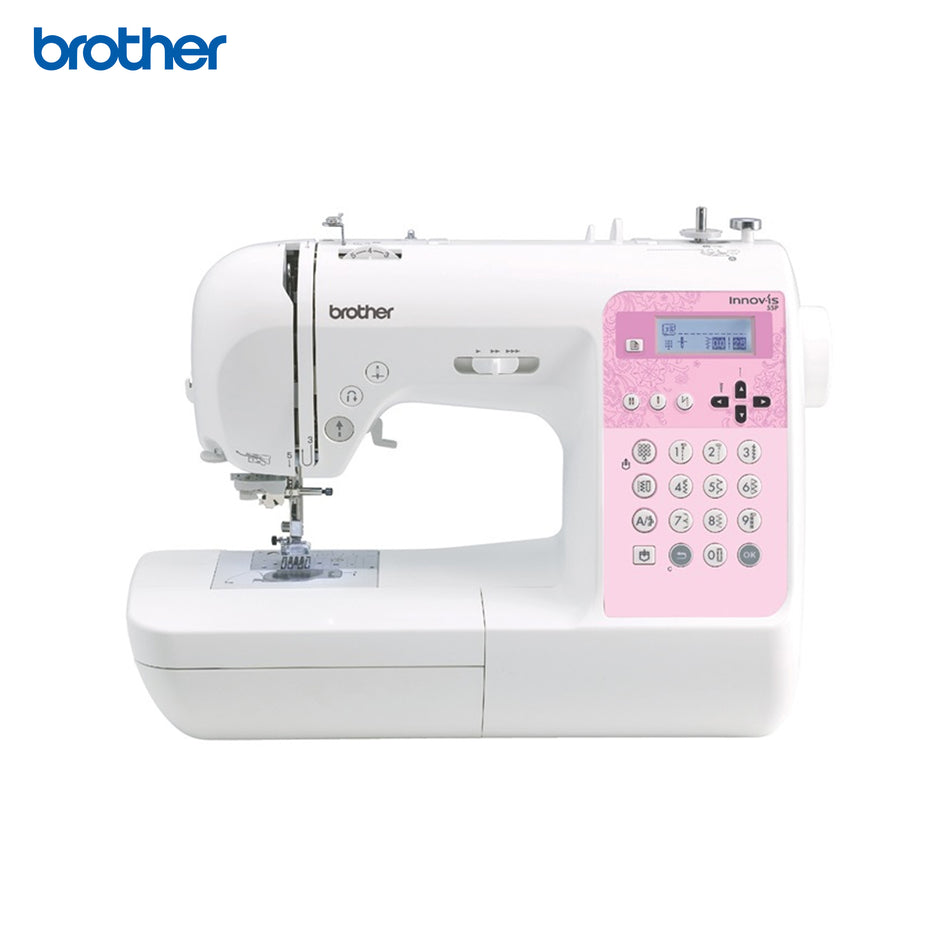 Brother Sewing Machine Computerized 135 Built-in Stitches including Buttonholes - NV55P