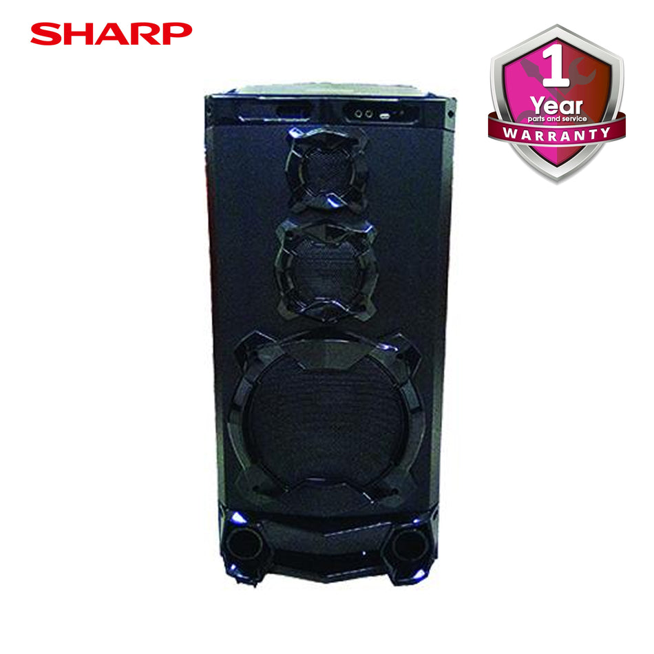 Sharp Videoke Box, LED Display, Bluetooth, 16GB Internal Storage, 2,700Built in Songs