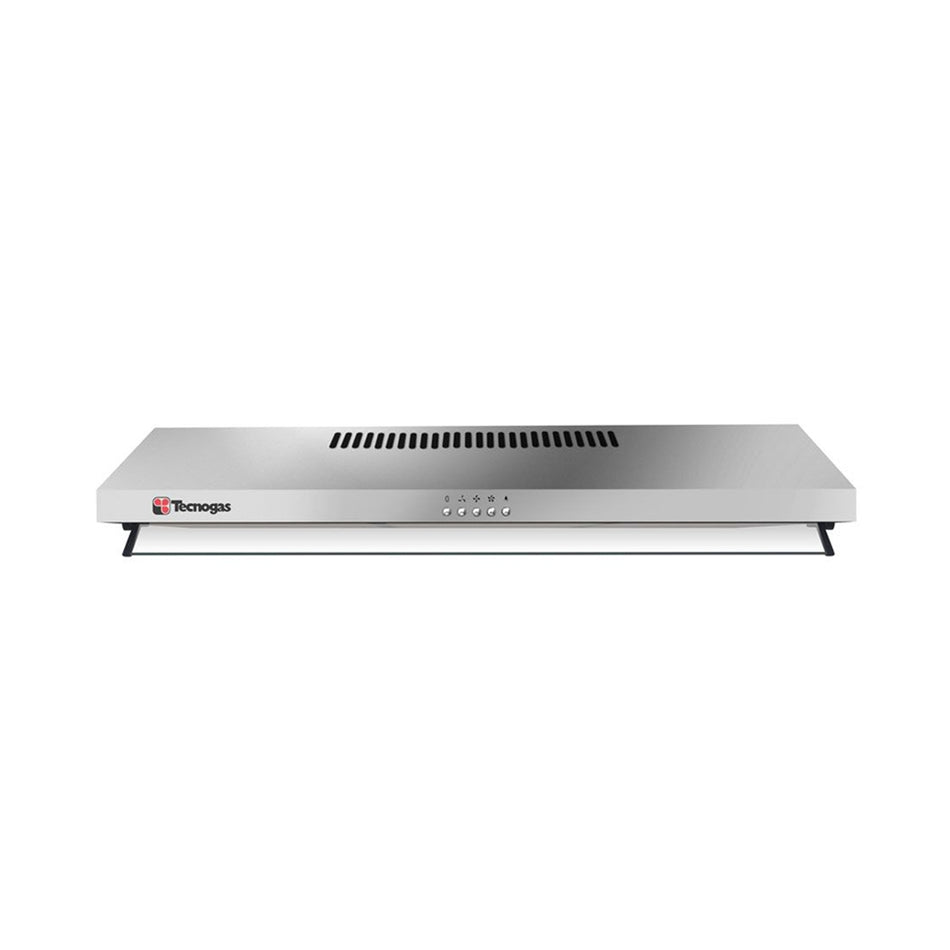 Tecnogas Range Hood 60cm. 1-Motor, Extraction Capacity: 300 m³/hr, Stainless Steel - TRH-6001SS
