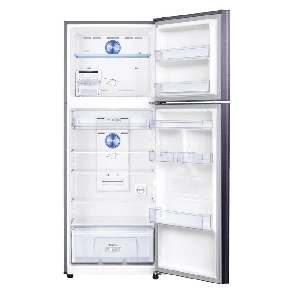 Samsung Refrigerator Double Door 13.6 Cuft. Twin Cooling Top Mount No-Frost - RT-38K5042UT/TC