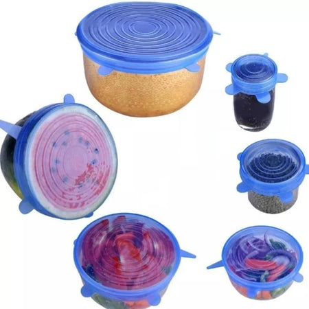 Reusable Silicone Lids