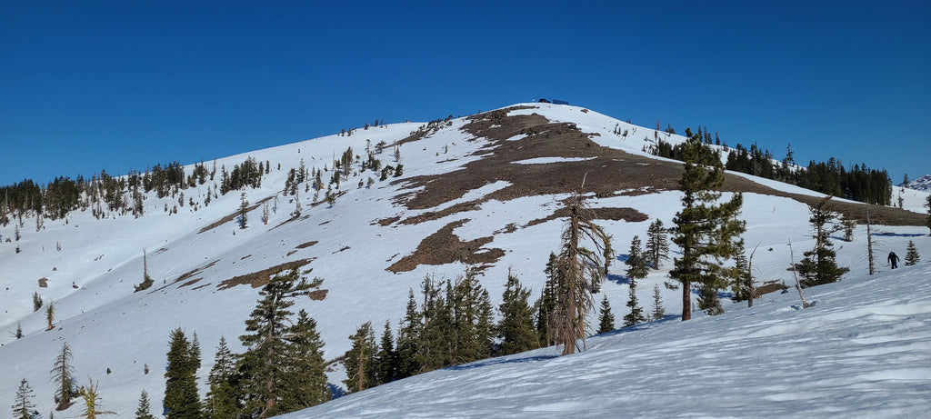 Looking back from the Mount Anderson Ridgeline toward Lincoln Peak.  Good coverage there!