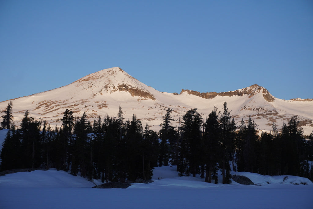 Pyramid Peak from Lake of the Woods, just south of Aloha Lake in Desolation Wilderness.