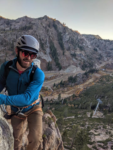 Will Sperry guide for Blackbird Mountain Guides