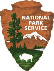 United States National Park Service Emblem for guide services permitted on National Park Land