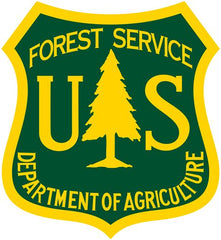 United States Forest Service Emblem for Guide Services Permitted on National Forest Land