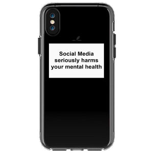 SOCIAL MEDIA/MENTAL HEALTH | iPhone case