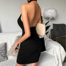 Load image into Gallery viewer, CALL ME- backless dress