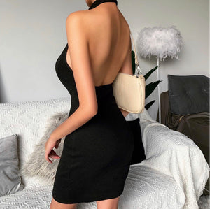 CALL ME- backless dress