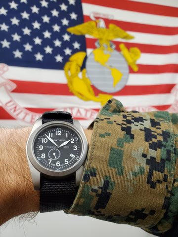 The Best Gift for Active or Retired  Law Enforcement and Military is a Durable Field Watch