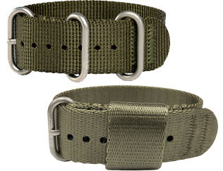Nylon webbing bands offer long lasting durability & comfort